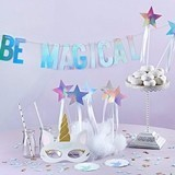 Kate Aspen Enchanted Unicorn 49-Piece Party Decorations Kit