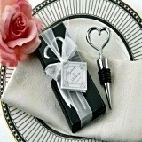 Kate Aspen Heart Bottle Stopper in Showcase Display Box