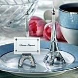 """Evening in Paris"" Eiffel Tower Place Card Holder (Set of 4)"