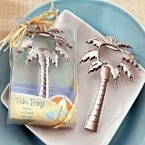 "Kate Aspen ""Palm Breeze"" Chrome Palm Tree Bottle Opener"