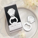 """Shine, Sparkle & Pop!"" Diamond Ring Bottle Opener"