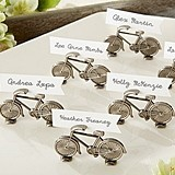 """Le Tour"" Bicycle Place Card/Photo Holder (Set of 6)"