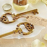 "Kate Aspen ""Key to My Heart"" Antique Bottle Opener"