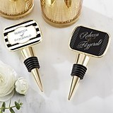Kate Aspen Classic Collection Personalized Epoxy-Domed Bottle Stopper