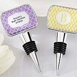 Kate Aspen Personalized Bottle Stopper With Epoxy Dome - Baby Shower