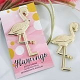 "Kate Aspen ""Fancy and Feathered"" Flamingo Bottle Opener"
