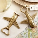 "Kate Aspen ""Let the Adventure Begin"" Airplane Bottle Opener"