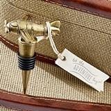 Kate Aspen 'Let the Adventure Begin' Vintage Airplane Bottle Stopper