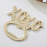"Kate Aspen Gold-Colored-Metal ""XOXO"" Bottle Opener"