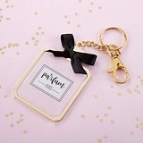 40fae6821701 Kate Aspen French Perfume Bottle Design Keychain with Compact Mirror