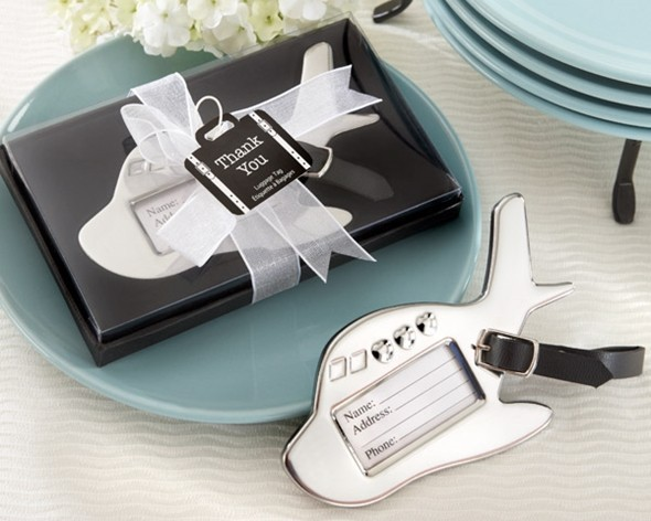 d9790ff6127d Kate Aspen Airplane Luggage Tag in Gift Box with Suitcase Tag