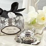 "Kate Aspen ""Tea for Two"" Teapot Tea Infuser"