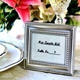 Kate Aspen Shining Sophistication Picture Frame/Placecard Holder