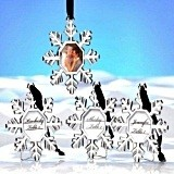 Kate Aspen Snowflake Place Card Holder/Ornament (Set of 4)