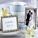 "Kate Aspen ""Silver Pearls"" Mini Photo Frame"
