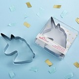 Kate Aspen Enchanted Unicorn-Shaped Stainless-Steel Cookie Cutter