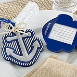 """Kate Aspen """"Anchors Away"""" Luggage Tag"""