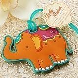 Kate Aspen Lucky Elephant Luggage Tag