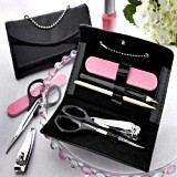 "Kate Aspen ""Little Black Purse"" Five-Piece Manicure Set"