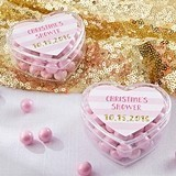 Kate Aspen Heart-Shaped Favor Containers - Sweet Heart (Set of 12)