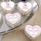 Kate Aspen Heart Favor Container - Tutu Cute (Set of 12)