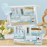Kate Aspen Beach Party Wedding Survival Kit in Clear Vinyl Cosmetics Bag