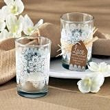 "Kate Aspen ""Lace"" Glass Tealight Holder (Set of 4)"