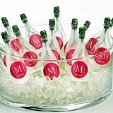 Personalized Soap-Bubble Bottles (Monogram Designs) (Set of 24)