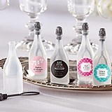 Kate Aspen Personalizable Wedding Bubble Bottles (Set of 24)
