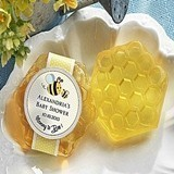 Kate Aspen Adorable Personalized Honeycomb-Shaped Baby Shower Soaps
