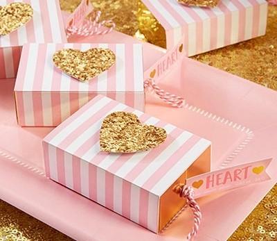 Kate Aspen 'Heart of Gold' Heart-Shaped Soap in Glitter-Heart Gift-Box