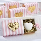Kate Aspen 'Heart of Gold' Heart-Shaped Soap in Glitter-Heart Gift-Box