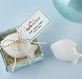 Kate Aspen Fish-Shaped Seaside Soap in Gift-Box