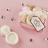 Kate Aspen Diamond Ring-Shaped Soap in Gift-Box