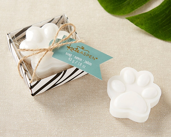 Kate Aspen 'Born to be Wild' Pawprint-Shaped Soap in Gift-Box