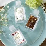 Kate Aspen 2oz Hand Sanitizer w/ Exclusive Custom Stickers (Set of 12)