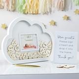 Kate Aspen Baby Shower Guest Book Alternative - Cloud Frame