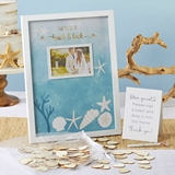 Kate Aspen 'Beach Party' Guest Book Alternative with Wooden Hearts