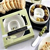 "Kate Aspen ""Olive You"" Olive Tray and Spreader"