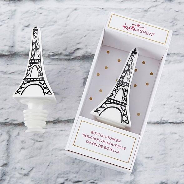 Kate Aspen Eiffel Tower Ceramic Bottle Stopper