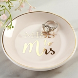"Kate Aspen ""Miss to Mrs."" Ceramic Trinket Dish"