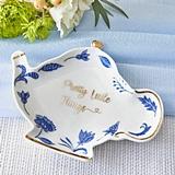 Kate Aspen 'Pretty Little Things' Blue and White Ceramic Trinket Dish