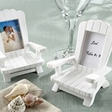 Beach Memories Adirondack Chair Placecard/Photo Holders (Set of 4)