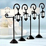 """Bourbon Street"" Streetlight Place Card Holder (Set of 4)"