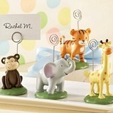 """Born to be Wild"" Animal Placecard/Picture Holder (Set of 4)"