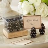Kate Aspen Pinecone Place Card/Photo Holders (Set of 6)