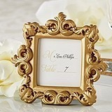 Kate Aspen Royale Gold Baroque Place Card/Photo Holder