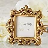 Kate Aspen Royale Gold Baroque Place Card/Photo Holder