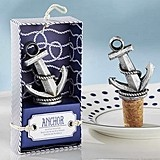 Kate Aspen Nautical-Theme Anchor-Shaped Bottle Stopper