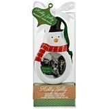"Kate Aspen ""Holly Jolly"" Snowman-Shaped Ornament/Frame"
